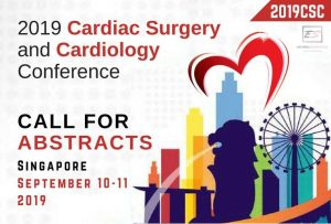 2019 Cardiac Surgery and Cardiology Conference, September 10-11, 2019 in Singapore.