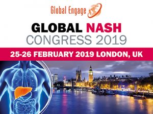 Global NASH Congress (nonalcoholic steatohepatitis), 25-26 February 2019 in London.