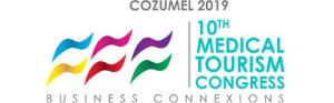 Logotype of 2019, 10th Medical Tourism Congress Cozumel Mexico, Business Connexions
