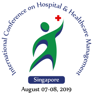Logotype of 2019 International Healthcare Management Conference in Singapore.