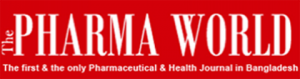 The Pharma World Health Journal logotype.