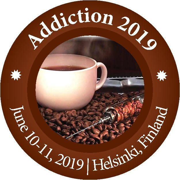 Logotype of addiction conference 10-11 June 2019 in Finland.
