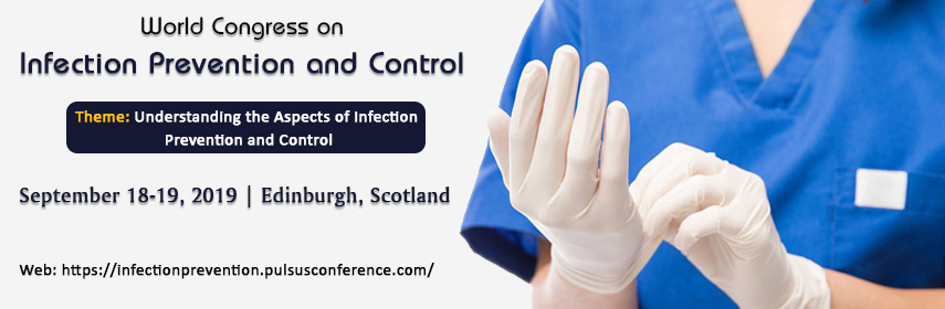Banner of 2019 Infection Prevention Congress