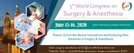 2020 Congress on Surgery and Anesthesia
